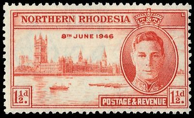 "NORTHERN RHODESIA 46 (SG46) - King George VI ""Peace Victory"" (pa84720)"