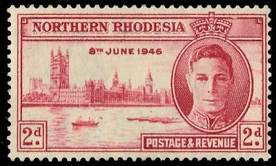 "NORTHERN RHODESIA 47 (SG47) - King George VI ""Peace Victory"" (pa32068)"