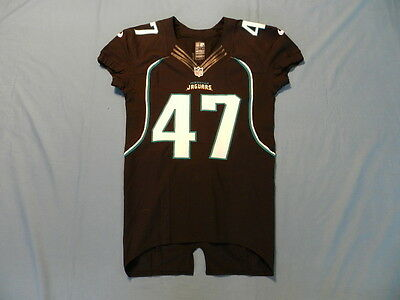 Richard 2012 Jacksonville Jaguars non game used jersey