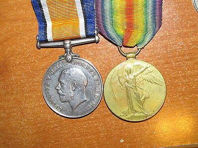 WW1 British Medal group named to 3rd Hussars Cavalry nice