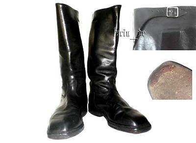 DDR NVA Grenzpolizei KVP Leder Stiefel Uniform East german Officer leather Boots