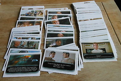 The Quotable Star Trek Movie Trading Card Set (2010) Rittenhouse (90 cards)