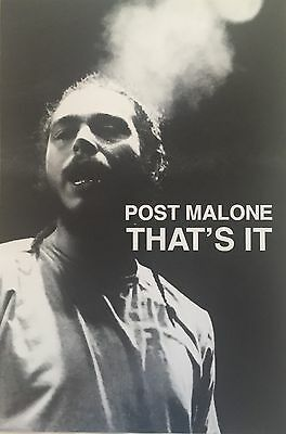 Post Malone That's It Poster 24 X 36