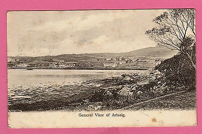 Dated 1912. General view of Arisaig, Inverness-shire