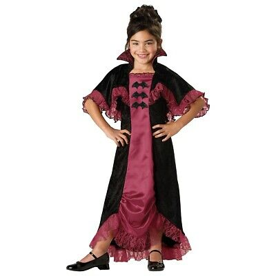 Halloween Vampire Costume Kids.Girls Vampire Costume Kids Halloween Fancy Dress