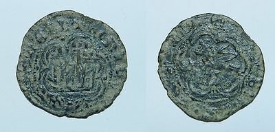 SPAIN : MEDIEVAL COIN (Maravedi) 13th Century