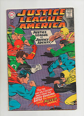 Justice League Of America #56 - 1st Golden Age Wonder Woman! - (Grade 5.5) 1967