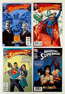 The Adventures Of Superman Dc Lot Of 4 Comics #617 618 619 643 (Vf/nm)
