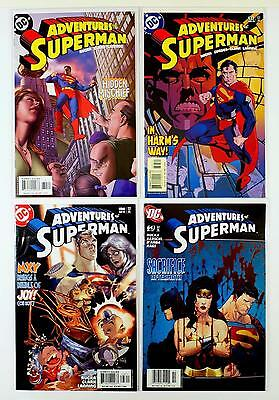 The Adventures Of Superman Dc Lot Of 4 Comics #634 637 638 643 (Vf/nm)