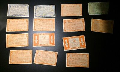 ALBERS Cereals Coupons Vintage 1943 1944
