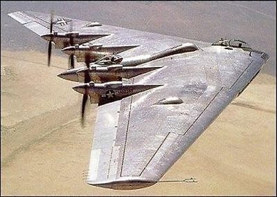 1/32 Scale Northrop XB-35 Flying Wing Plans, Templates, Instructions