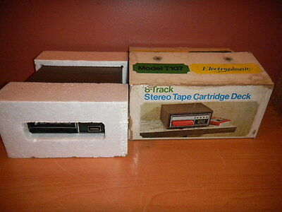 Electrophonic Stereo Tape Cartridge Deck 8 Track Model T107