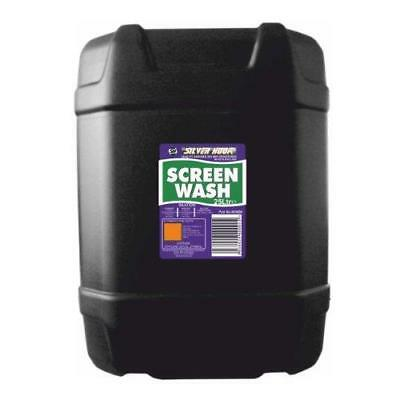 Silverhook [SHX6] Concentrated All Seasons Screen Wash 25 Litres Non Smear!!