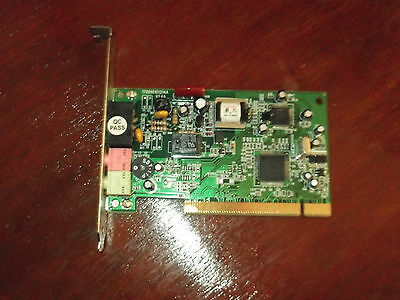 56K PCI Fax Modem Card 170010101214A - USED WORKING GOOD CONDITION