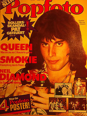 1 german cover clipping FREDDIE MERCURY N. SHIRTLESS QUEEN BOYS BOY GAY INT `78