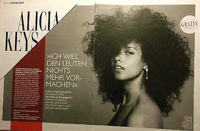 2 german clipping ALICIA KEYS INTERVIEW N. SHIRTLESS SINGER BOY BAND BOYS GROUP
