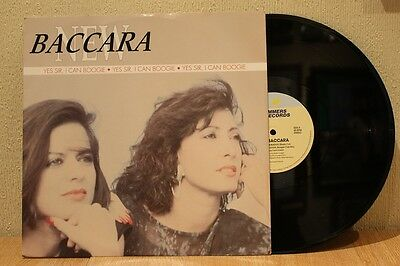 """New Baccara - Yes Sir, I Can Boogie 1990 12"""" 45 Ex+"""