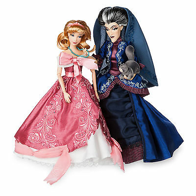 Disney Fairytale  Designer Collection Cinderella and Lady Tremaine LE Doll Puppe