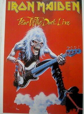 Cpa Collection - Iron Maiden / Fear Of The Dark Live - ** 890