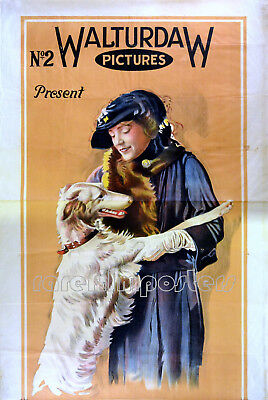 ROMANCE OF A MOVIE STAR 1920 Violet Hopson, Stewart Rome UK 40x60 POSTER