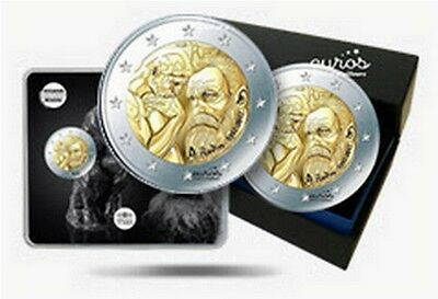 "Trio 2 euros commémoratives FRANCE 2017 - ""Auguste Rodin"" - UNC, BU et BE inclus"