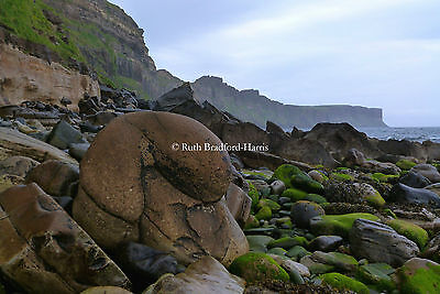 Trotternish Coast Skye Photograph Mounted Print 10 colours Greetings Cards