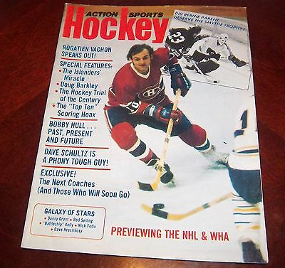 Action Sports Hockey Guy lafleur December 1975