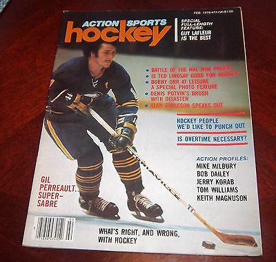Action Sports Hockey Gilbert Perreault 1978