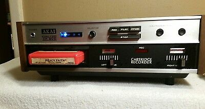 Vintage Akai Cr-80D 8 Track Player