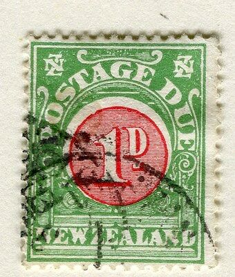 NEW ZEALAND;  1904-8 early Postage Due issue fine used 1d. value