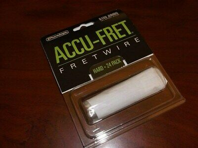 "New - Dunlop Accu-Fret 2-5/8"" Jumbo Fret Wire Set (24) #6100"