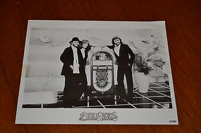 The Bee Gees Signed RSO Records Promotional Picture