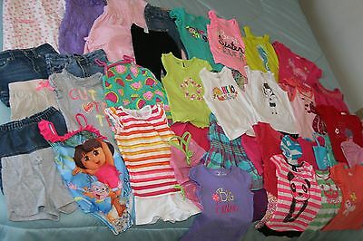 Lot of 3T spring summer clothes shirts, shorts, swimsuits everyday dressy