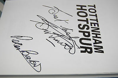 Tottenham Hotspur Head To Head Book Signed Bobby Smith & Peter Baker