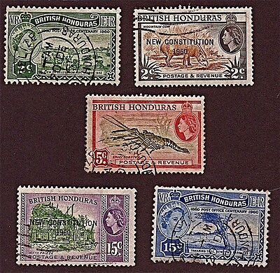 HONDURAS, 2 1953-61 Miscellaneous Stamps (54-62 Yrs  Old) Used, See Descr  FUS69
