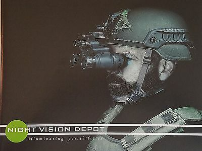 Night Vision Depot 2015 Defense Catalog Booklet / NEW