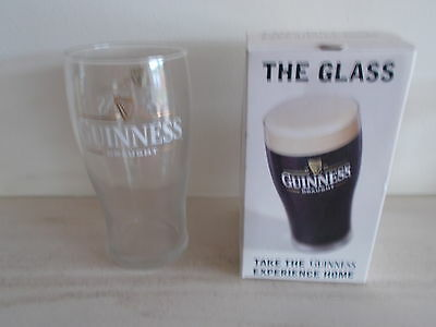 Guinness 'The glass' pint glass Boxed