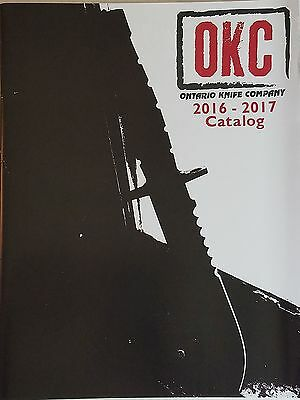 Ontario Knife Company 2016 - 2017 Catalog Booklet NEW 46 Pages