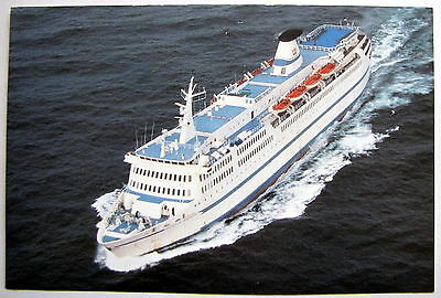 Prince Of Fundy Cruises Advertising Info Card