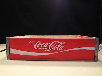 Coca Cola Vintage Bottle Crate / Carrier No Slots (C7)
