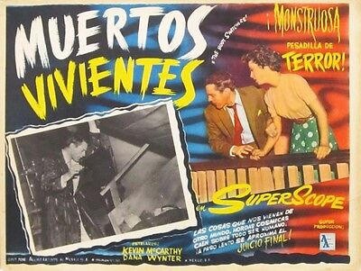 INVASION OF THE BODY SNATCHERS original Mexican Lobby Card 1956 version (mx003)