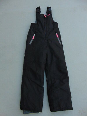 Snow Pants Childrens Size 6 X Champion With Bib Black Pink New Demo Model