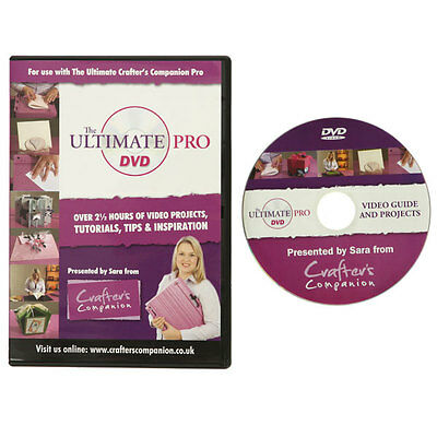 Ultimative Pro DVD by Crafter's Companion Video CD-ROM