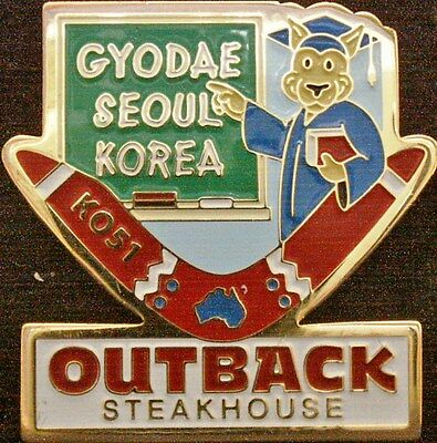 J1281 Outback Steakhouse Korea Seoul Gyodae