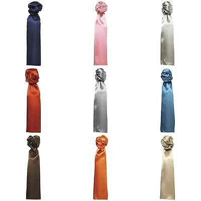 Premier Scarf - Ladies/Womens Plain Professional Business/Work Scarf