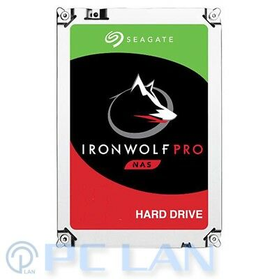 Seagate IronWolf Pro NAS HDD 4TB ST4000NE0025 128MB 7200RPM SATA 6G 3 Years Wty