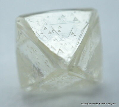 Absolutely Rare, Museum Quality Beautiful Octahedron Shape Natural Diamond