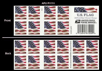 US Flag forever booklet 20 APU P1111 MNH 2017