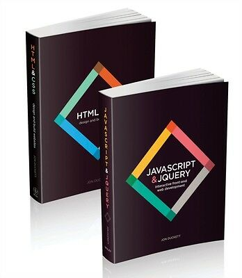 Web Design with HTML, CSS, JavaScript and jQuery Set (Hardcover),. 9781119038634