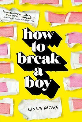 How to Break a Boy by Laurie DeVore (English) Hardcover Book Free Shipping!